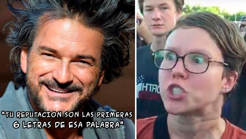 Ricardo Arjona macho opresor.