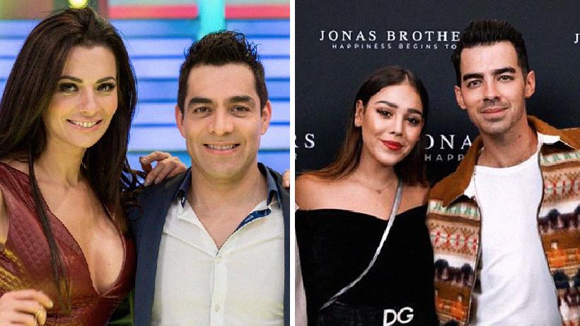 Danna Paola y Joe Jonas