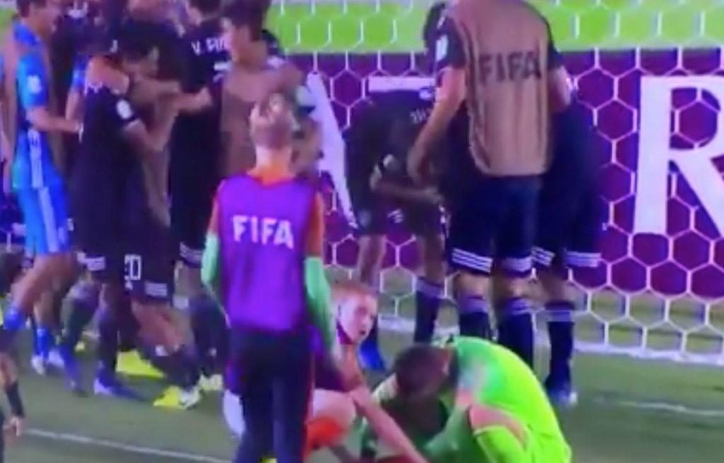 """La Sub-17 acaba de vengar el """"No era penal"""" y pasó a la final del Mundial sacando a Holanda"""