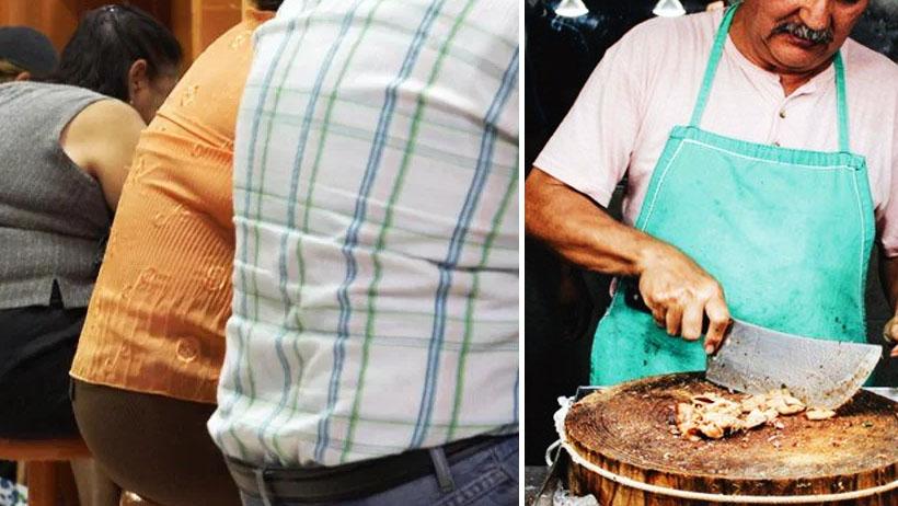 Para combatir obesidad, taquerías deberán poner bancos que sólo soporten 70 kilos