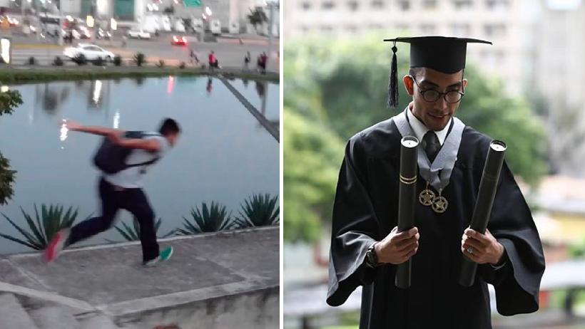 Los estudiantes son el futuro nivel: Joven se titula con tesis sobre Naruto