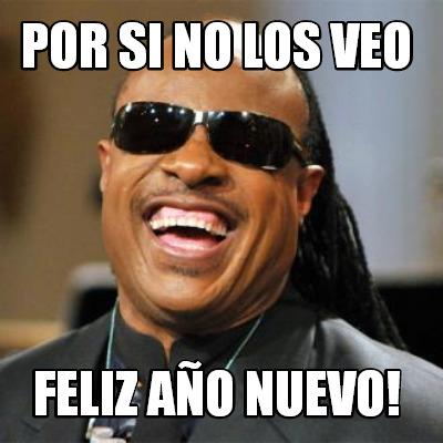 Meme año nuevo Stevie Wonder