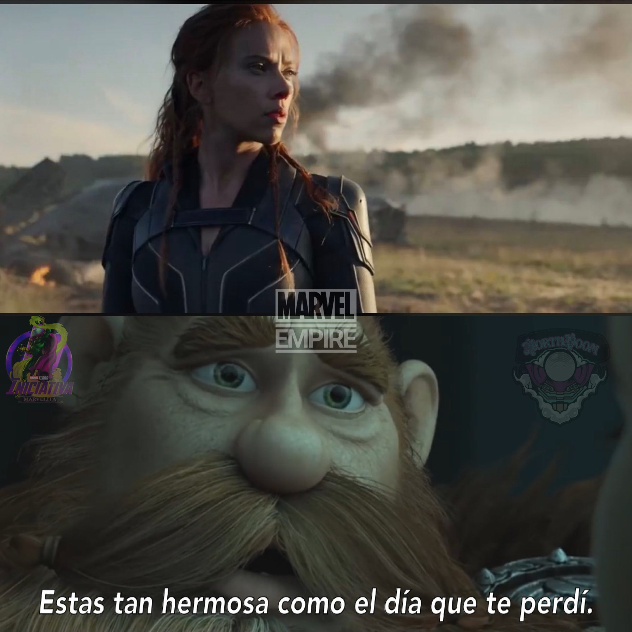 Black Widow Meme trailer