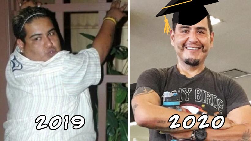 Miles de personas terminaron la tesis y adelgazaron en 2020.