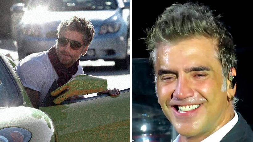 Alejandro Fernández se bajó a empujar su carro de 3 millones.