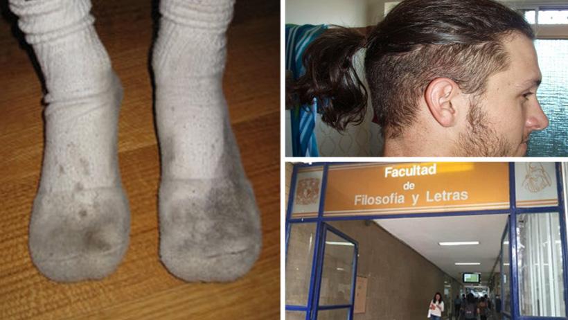 12 apestosas características de tu amigo al que le huelen las patas