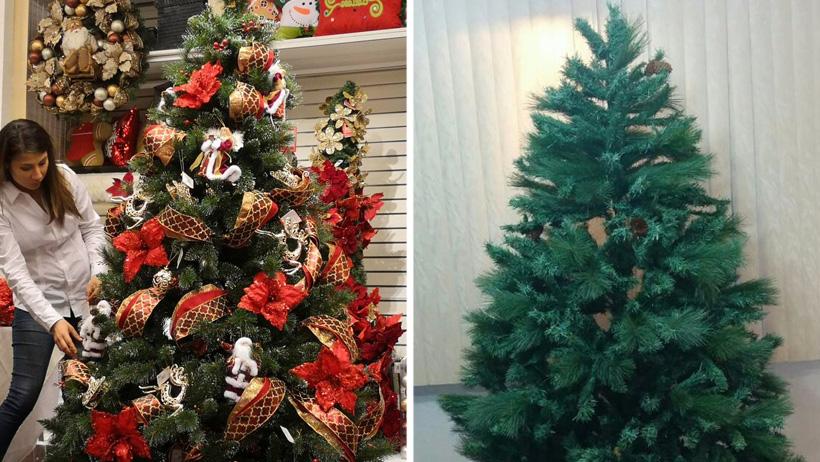 Por austeridad, gobierno sólo adornará la mitad del árbol navideño