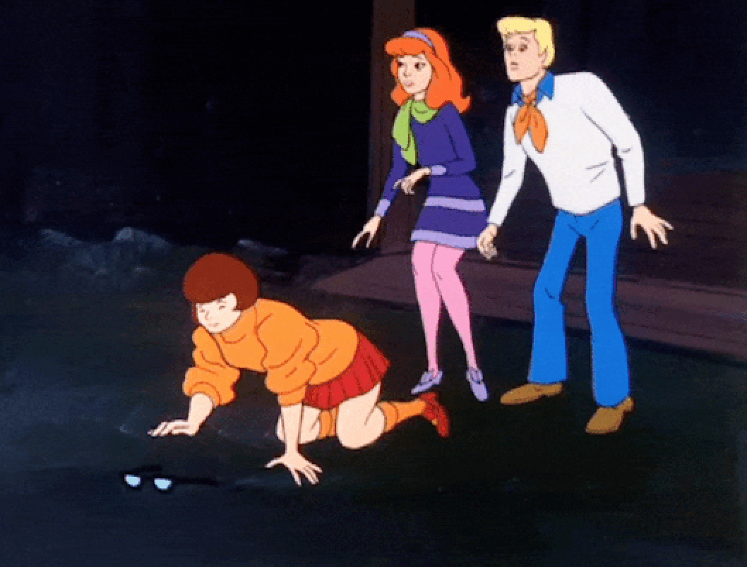 Scooby Doo Velma Lentes