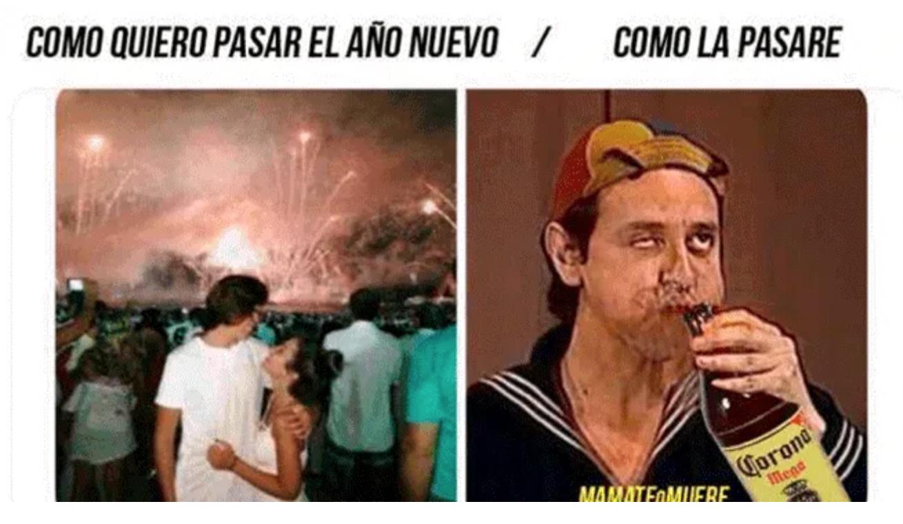 Meme año nuevo