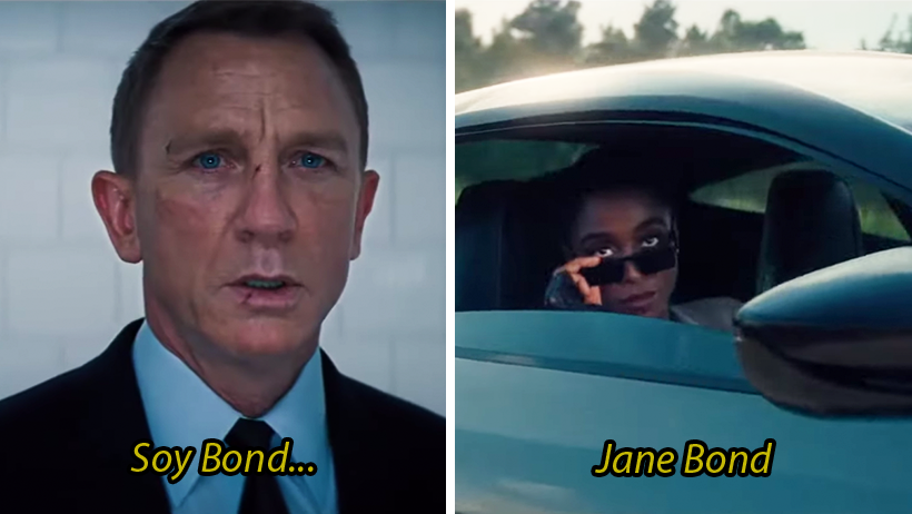 ¡A un lado, James Bond! El inclusivo trailer de No Time To Die ya trae a la chica 007