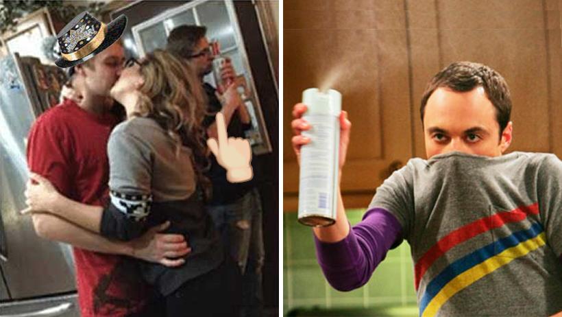 Persona con fobia a los gérmenes se queja porque nadie lo besa en Año Nuevo