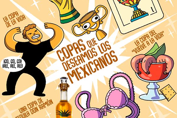 Copas que deseamos los mexicanos