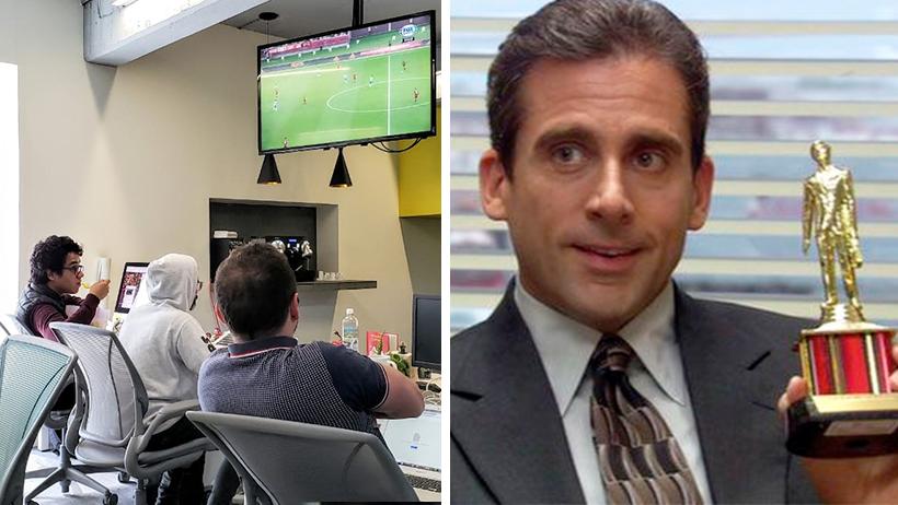 Oficinas que ven el partido de Monterrey vs Liverpool reportan incremento de productividad