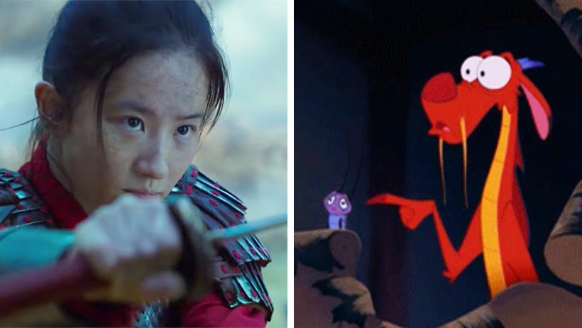 Disney lanzó un trailer mamalón de Mulán, pero ni sale Mushu y es quien nos importa