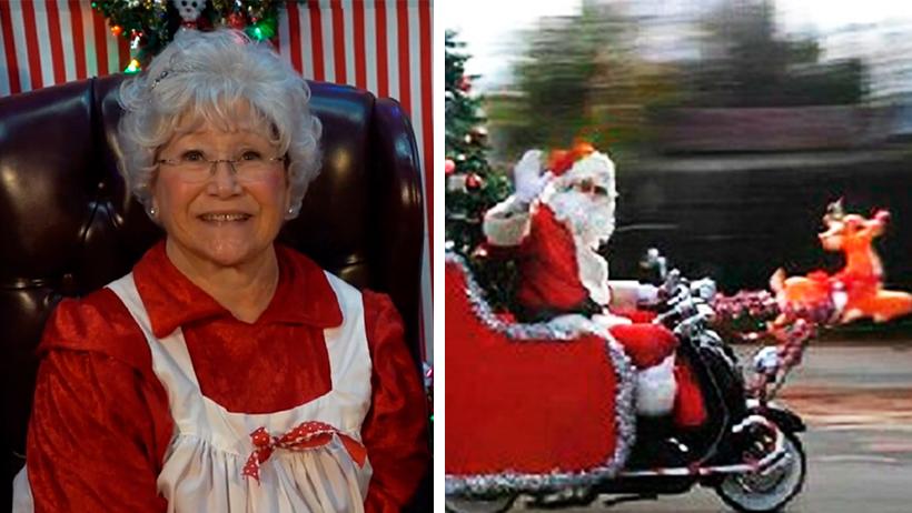 Por equidad de genero, esta Navidad será la Señora Claus quien entregue los regalos