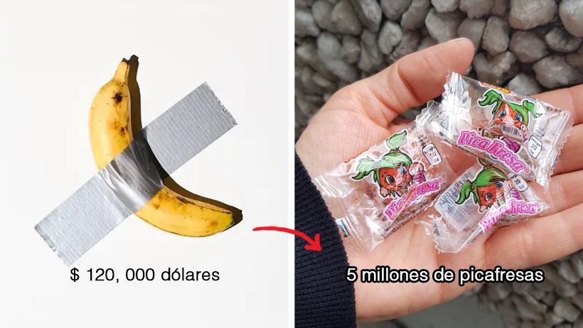 13 cosas que podrías comprar con lo que costó el plátano pegado en la pared