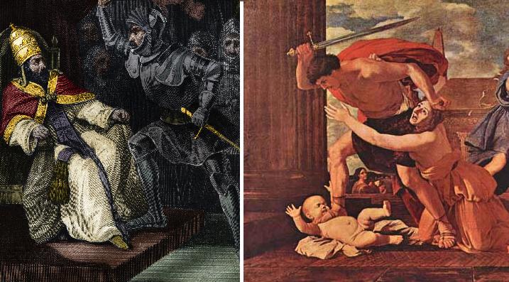 Rey envidioso es detenido antes de provocar infanticidios por toda la comarca