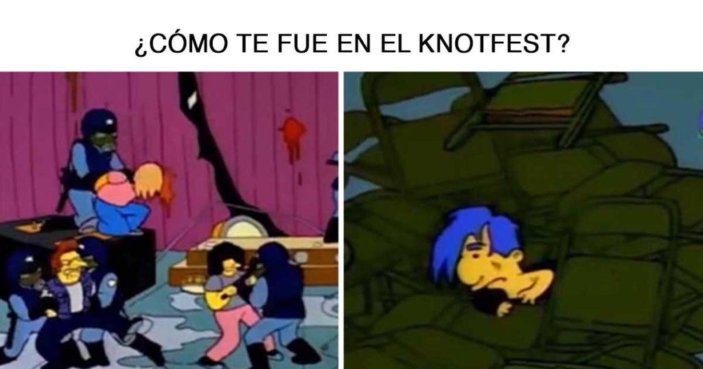 12 violentos memes que nos dejó el zafarrancho de ayer en el Knotfest