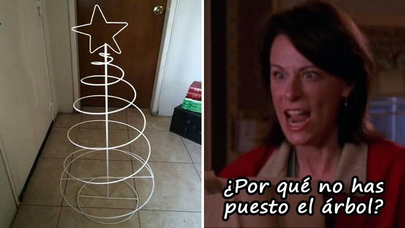 Suspenderán la Navidad en casas donde la mamá no se enoje durante los preparativos