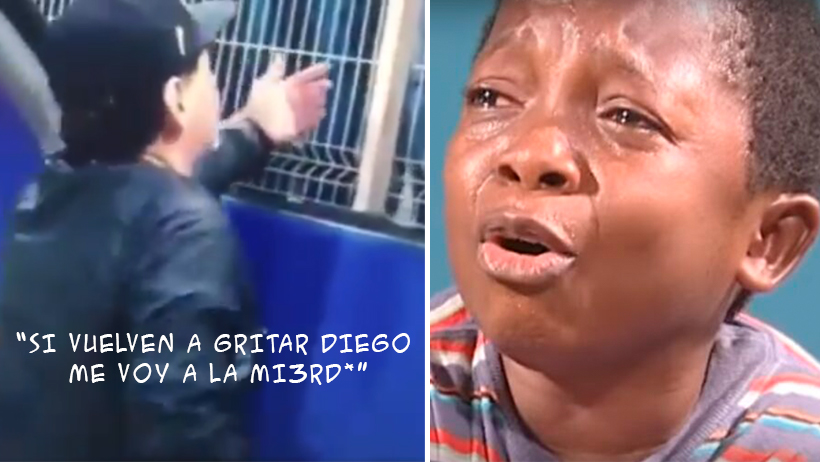 El miserable de Maradona humilló a unos niños que le pidieron su autógrafo