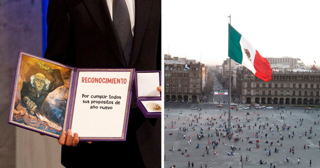 Anuncian homenaje en el Zócalo al único mexicano que sí cumplió sus propósitos de año nuevo