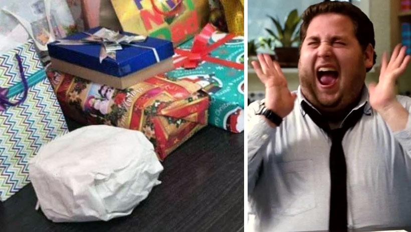Descubren al primer Godín que sí quedó satisfecho con su regalo del intercambio