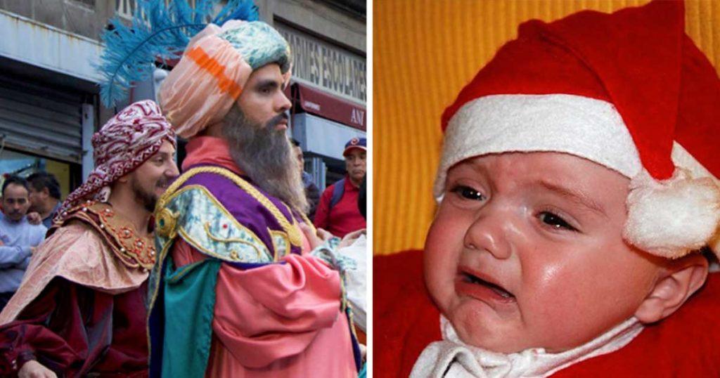 Personas a las que Santa dejó en visto intentarán de nuevo con los Reyes Magos