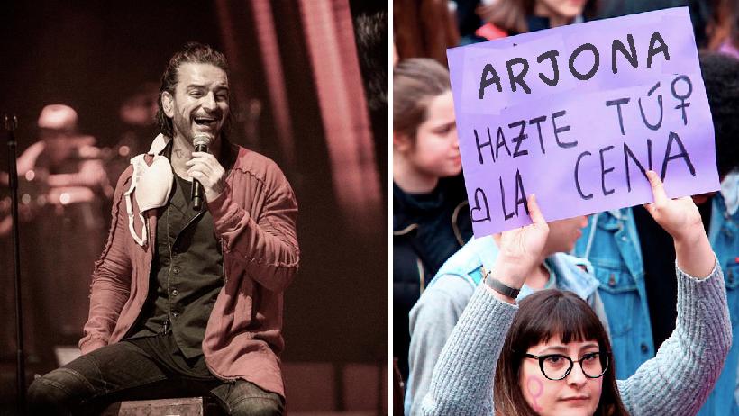 Arjona modifica sus canciones a versión feminista