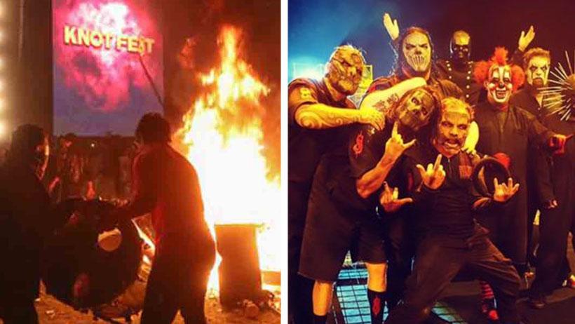 Los payasitos de Slipknot regresan a México después de tanto alboroto y más pronto de lo que esperabas