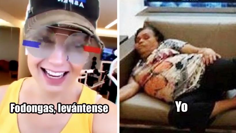Bárbara de Regil nivel: Thalía nos llama fodongas y no se vale, así ya no juego