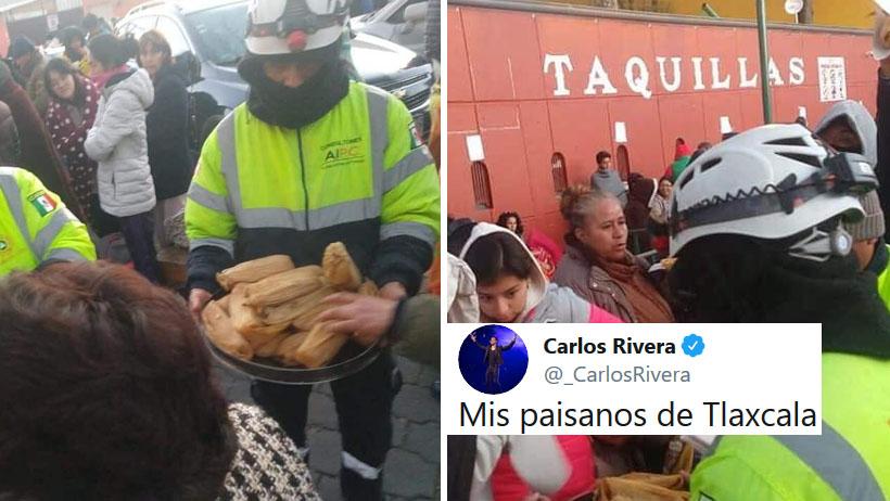 TLAXCALA MÁGICO: Por visita de Carlos Rivera cierran calles y el pueblo enloquece