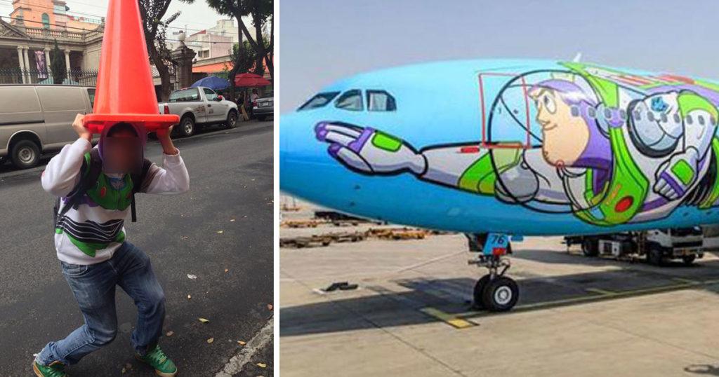 ¿Traumado con Toy Story? Ahora puedes volar en un avión decorados con sus personajes