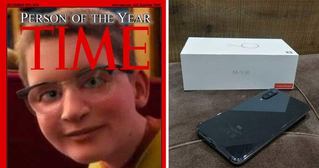 Joven que compró Xiaomi en lugar de iPhone es nombrado persona del año