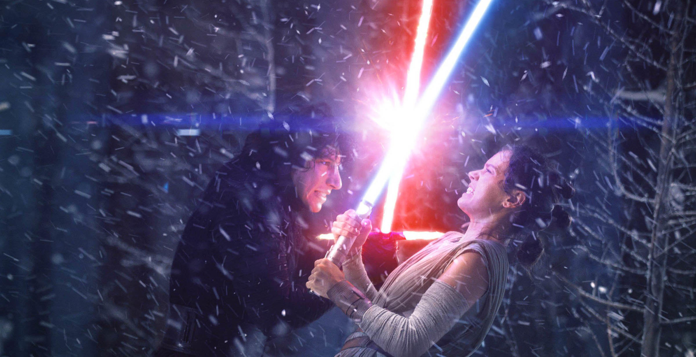 Star Wars The Force Awakens Kylo vs. Rey
