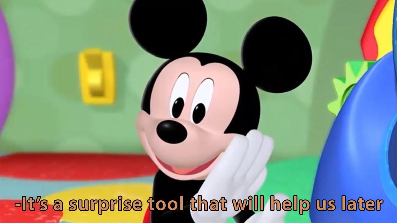 Mickey surprise tool