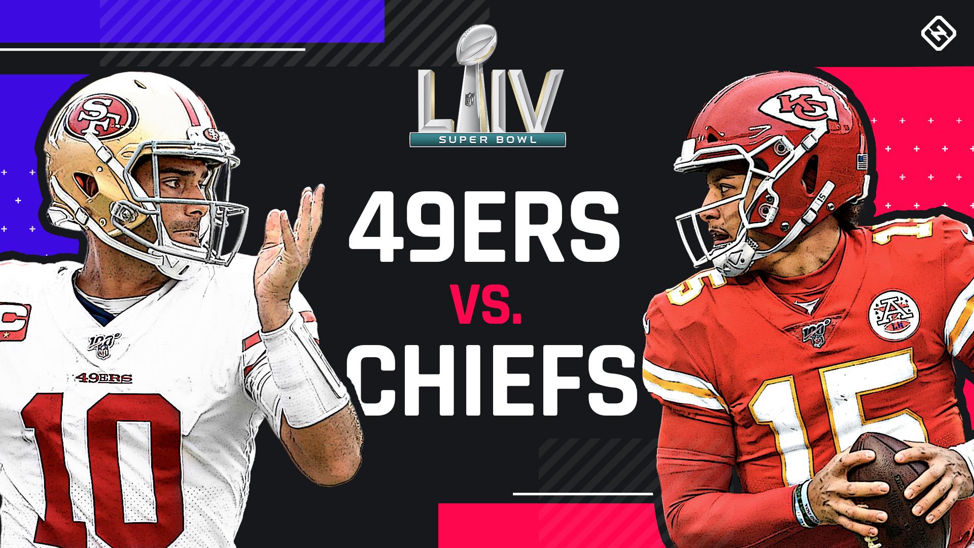 Super Bowl LIV Kansas vs. San Francisco
