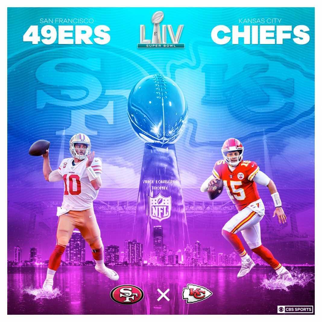 Super Bowl Poster