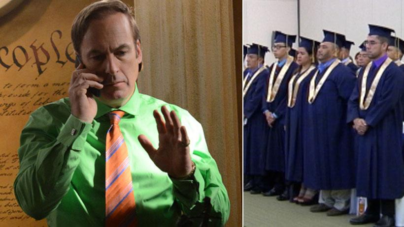 """Personas que hayan visto """"Better Call Saul"""" recibirán título de abogados"""