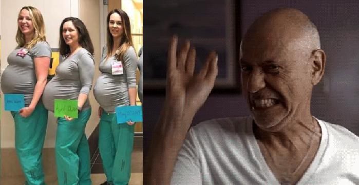 Don Juan forever: abuelito embaraza a 4 enfermeras del asilo donde estaba