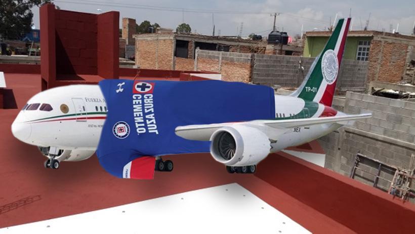De ganar el avión presidencial, 99% de los mexicanos lo abandonarían en la azotea
