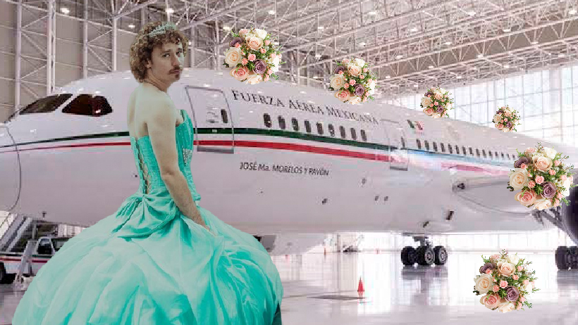 Avión Presidencial será rentado para fiesta de XV años.