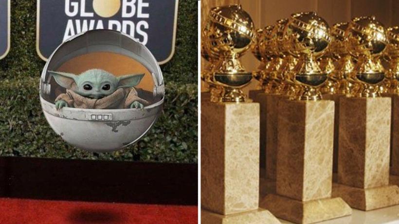 Baby Yoda aparece en alfombra roja de los Golden Globes y gana todos los premios