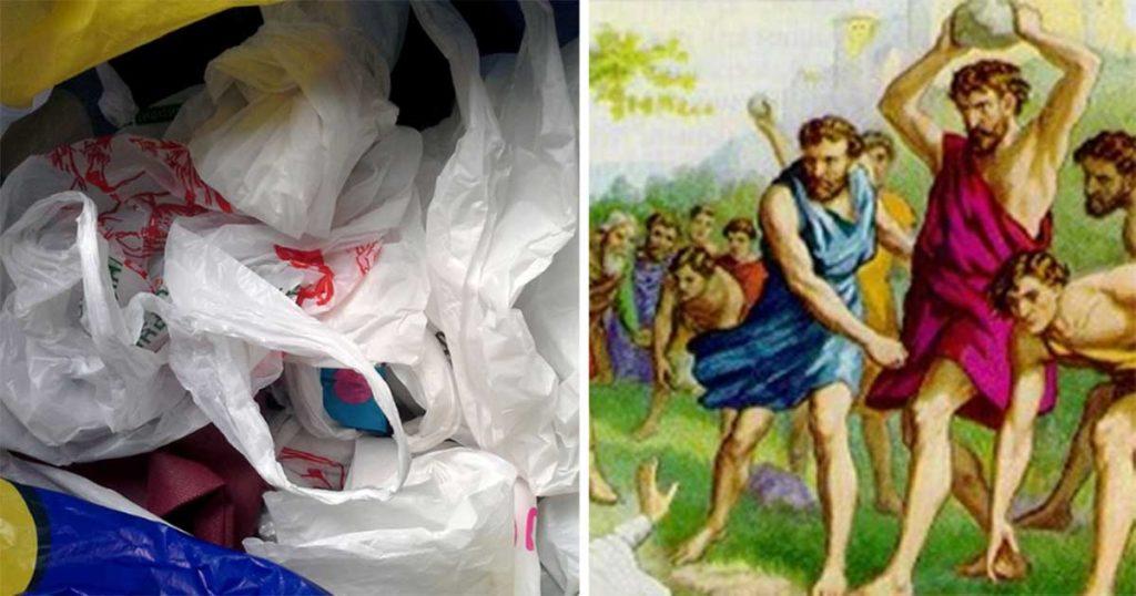 Personas que sean sorprendidas con una bolsa de bolsas en su casa serán apedreadas en la plaza pública