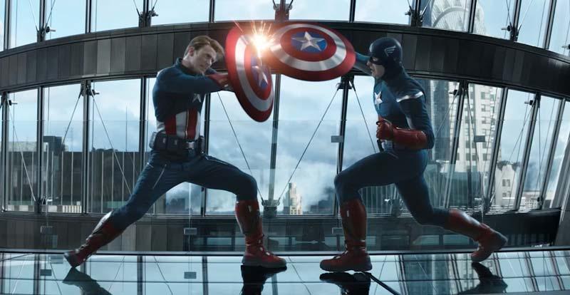 Captain America vs Captain America