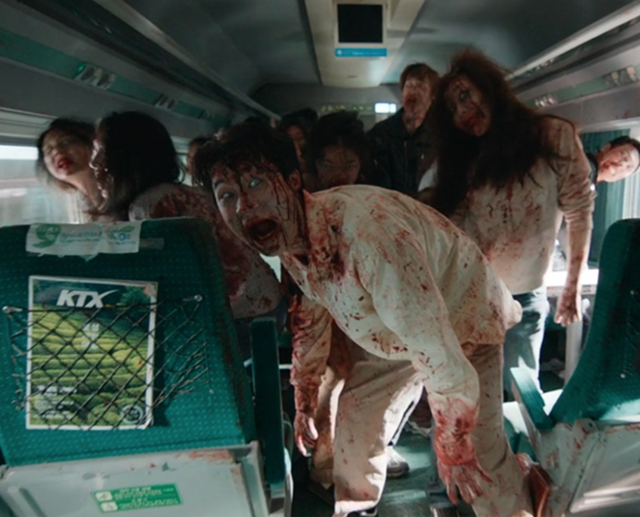 Zombies Train to Busan