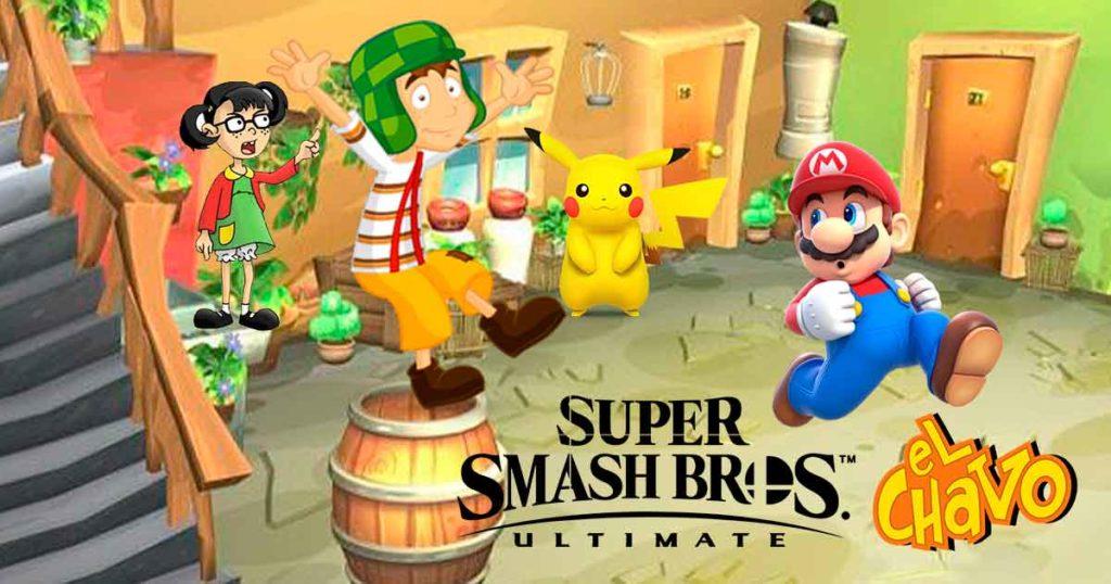 Nintendo anuncia al Chavo del 8 como nuevo personaje de Smash Bros.