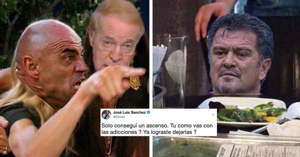 """""""Chelis"""" y Carlos Hermosillo armaron una pelea de viejos… lobos de mar en Twitter"""
