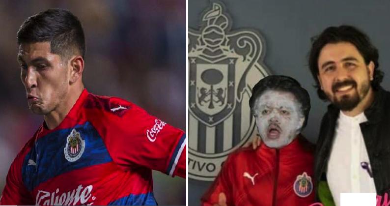 Ante la baja de Víctor Guzmán, Chivas anuncia a su nuevo refuerzo estrella