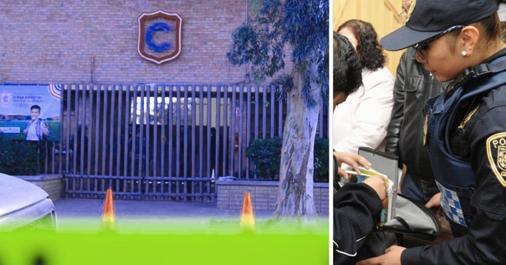 "Antes de tragedia, padres del Colegio Cervantes se negaron al programa ""Mochila Segura"""