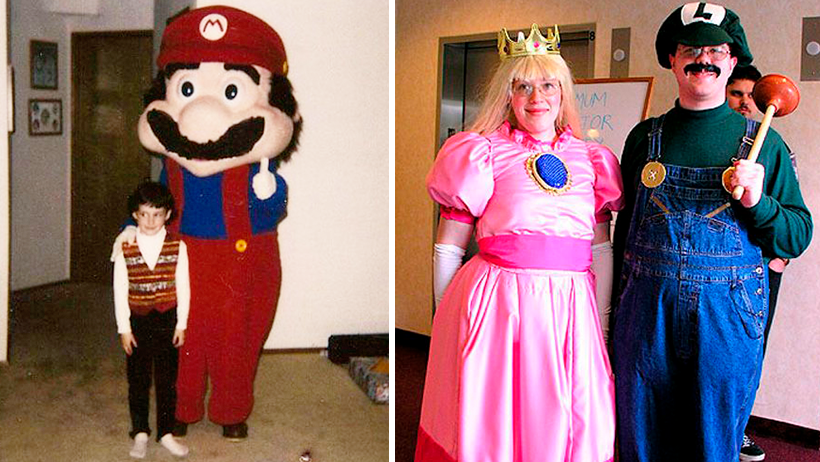 Mario Bros Cosplay Ugly